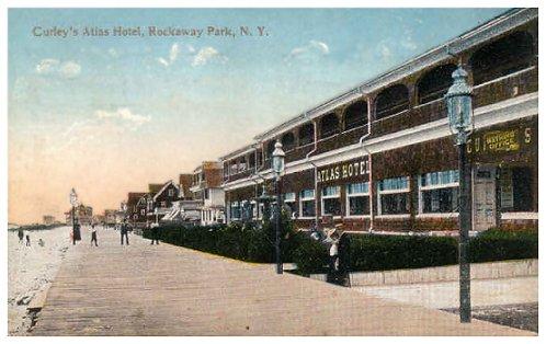 1911 Curley S Atlas Hotel Rockaway Park