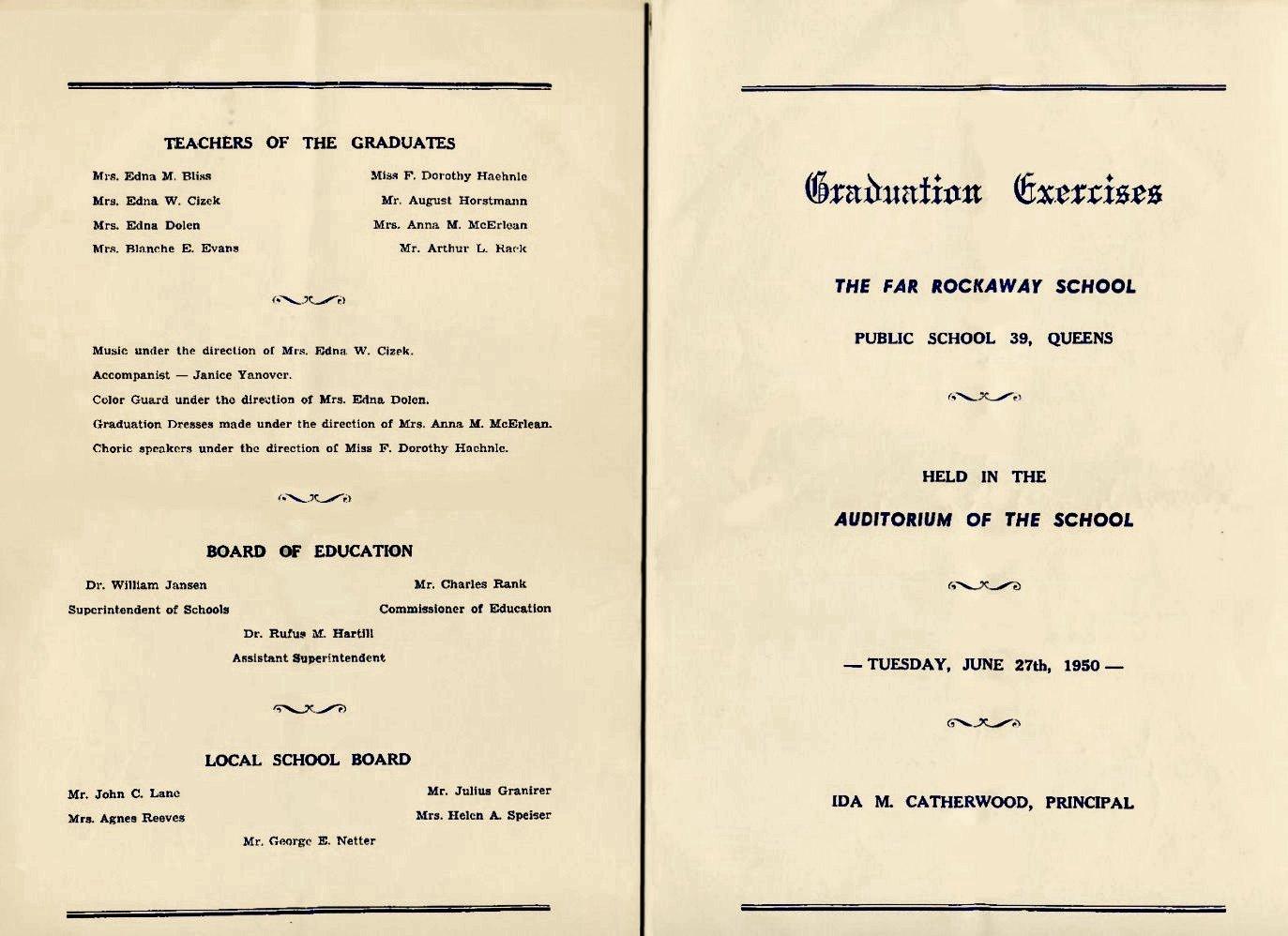 how to make a graduation program