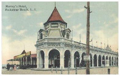 Rockaway Park Ny Murray S Hotel C 1912 Beach